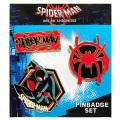 スパイダーマン:スパイダーバース IBA-93 ピンバッジセット 【メール便可】