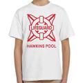 ネットフリックス ストレンジャー・シングス 未知の世界 ホーキンス・コミュニティ・プール ライフガード Tシャツ