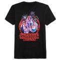 ネットフリックス ストレンジャー・シングス 未知の世界 シーズン3 メインアート Tシャツ