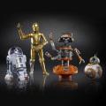 スター・ウォーズ ブラックシリーズ USディズニーパーク ギャラクシーズ・エッジ限定 6インチ アクションフィギュア 4パック ドロイド・デポ (BB-8 & R2-D2 & C-3PO & DJ R3X)