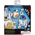 スター・ウォーズ 2019 ギャラクシー オブ アドベンチャーズ アクションフィギュア 3パック R2-D2 & BB-8 & D-O