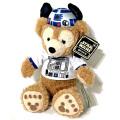 スターウォーズ × ディズニーベア 2016 USディズニーパーク限定 12インチプラッシュ ぬいぐるみ R2-D2 ファン ダッフィー