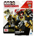 トランスフォーマー KRE-O クレオン バトルチェンジャー ブロックフィギュア 82ピース グリムロック 【パッケージダメージあり】