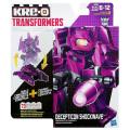 トランスフォーマー KRE-O クレオン バトルチェンジャー ブロックフィギュア 73ピース ショックウェーブ