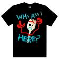 """ディズニー/ピクサー トイ・ストーリー4 フォーキー""""WHY AM I HERE?"""" Tシャツ"""