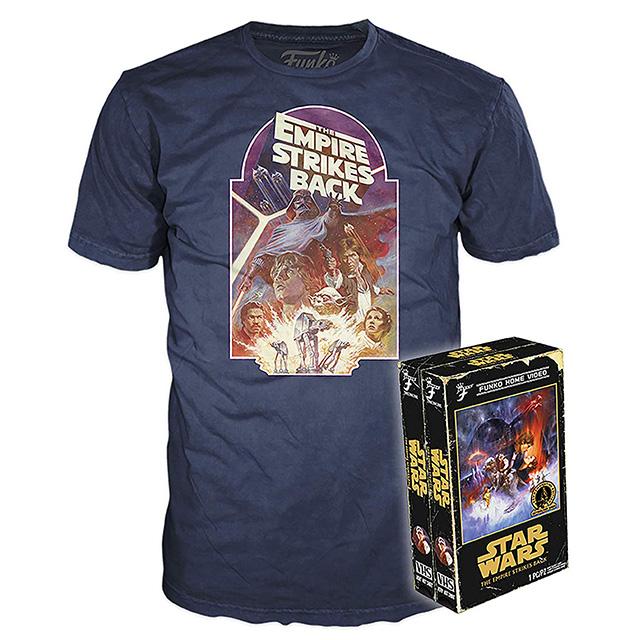 スター・ウォーズ / 帝国の逆襲 ファンコ ホーム ビデオ VHS パッケージ Tシャツ