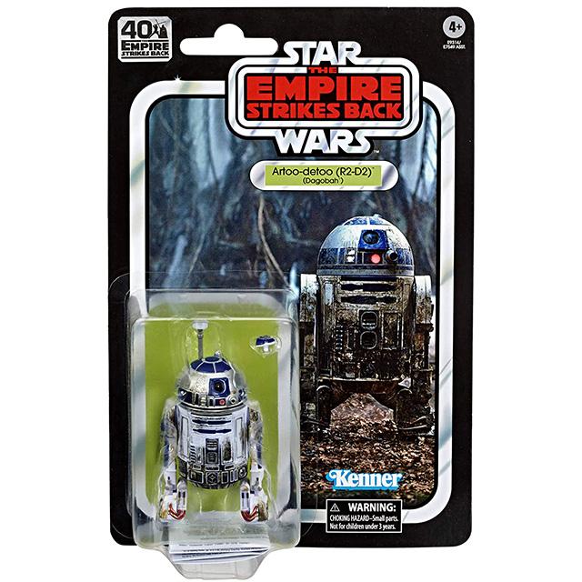スター・ウォーズ 帝国の逆襲 40周年記念 ブラックシリーズ ヴィンテージパッケージ 6インチ アクションフィギュア R2-D2