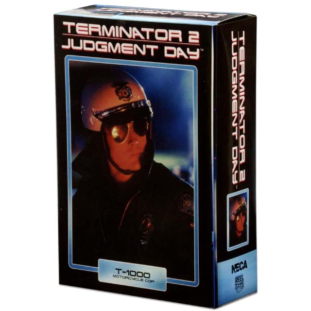 ターミネーター2 ネカ 7インチ アルティメット アクションフィギュア T-1000 / ロバート・パトリック (モーターサイクル・コップ バージョン)