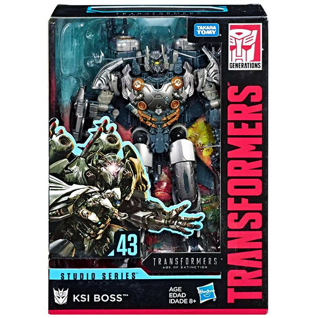 トランスフォーマー ジェネレーションズ 2019 スタジオシリーズ ボイジャークラス #43 『ロストエイジ』 KSI ボス