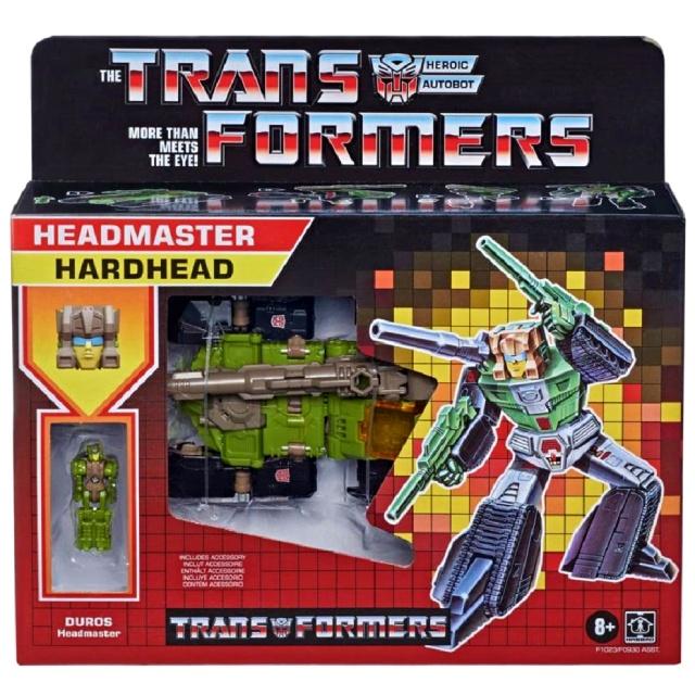 トランスフォーマー ウォルマート限定 レトロ ヘッドマスターズ デラックスクラス ハードヘッド