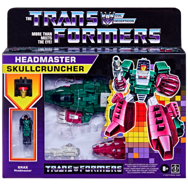 トランスフォーマー ウォルマート限定 レトロ ヘッドマスターズ デラックスクラス スカルクランチャー