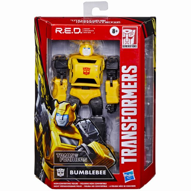 トランスフォーマー ジェネレーションズ 2021 ウォルマート限定 R.E.D. シリーズ 6インチ アクションフィギュア バンブルビー