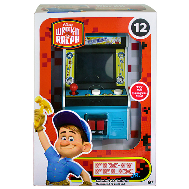 ディズニー シュガー・ラッシュ:オンライン アーケード・クラシックス 2018 ミニ アーケードゲーム #12 フィックス・イット・フェリックス