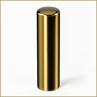 チタン  ミラーゴールド 16.5mm