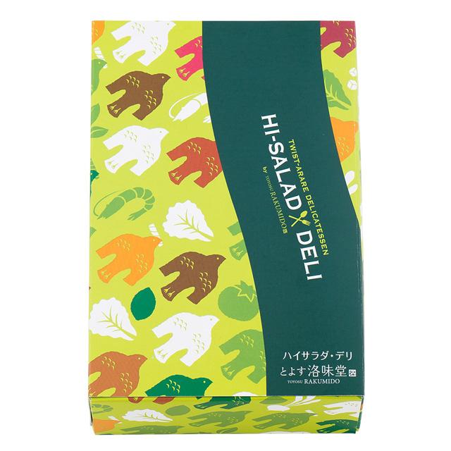 洛味堂 ハイサラダ・デリ 72g(12袋)入 ※外熨斗のみご対応