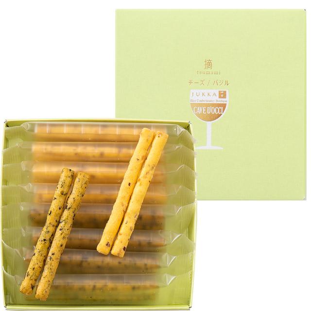 十火 カーブドッチ アソート摘(チーズ・バジル)22g(8袋)入