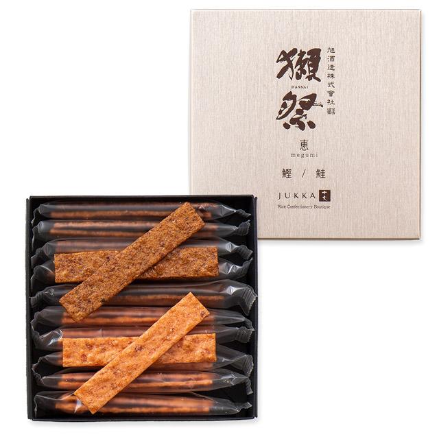 十火 獺祭アソート恵(鰹・鮭)32g(10袋)入