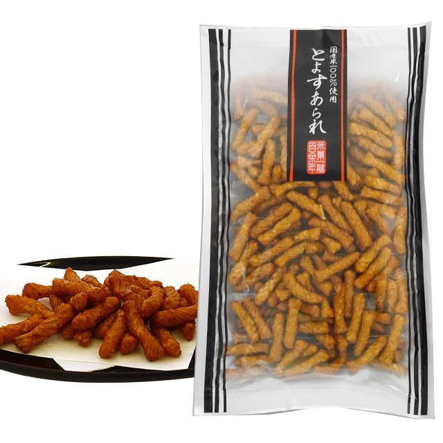 とよすあられ 国産米使用 一味あられ85g×10袋入