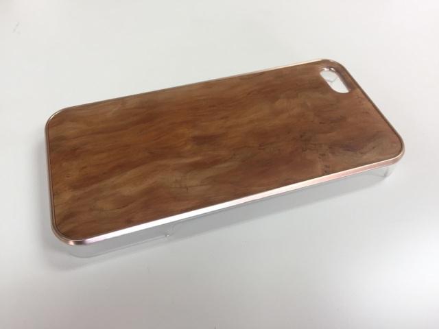iPhone SE・iPhone 5/5s用 天然木ジャケット 吉野杉バール