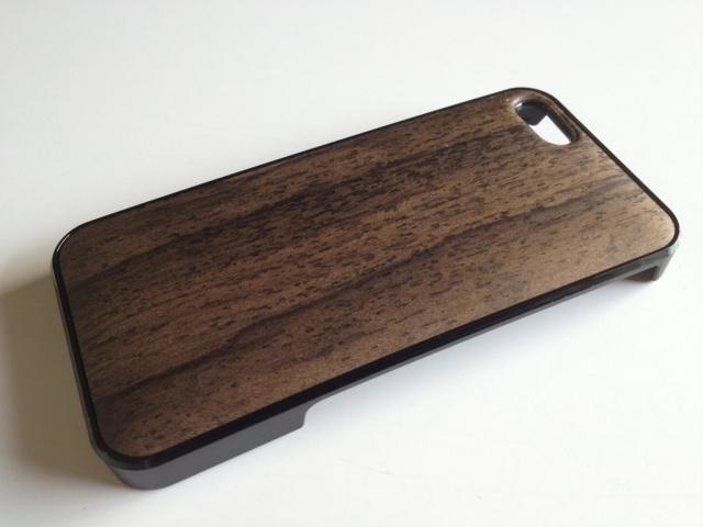 iPhone SE・iPhone 5/5s用 天然木ジャケット シャム柿