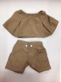 Lサイズ用 ベージュ スカート・パンツ