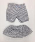 Mサイズ用 チェックパンツ・スカート