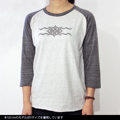 ラグタン七分袖Tシャツ(2色展開)