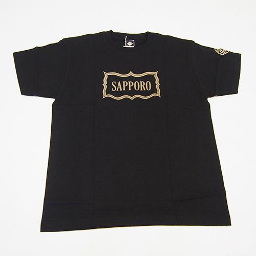 アイヌ文様Tシャツ - SAPPORO Tシャツ(2色展開)_1