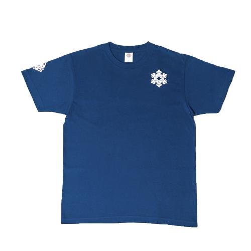 ToyToy屋アイヌ文様 【雪】 Tシャツ (3色展開)