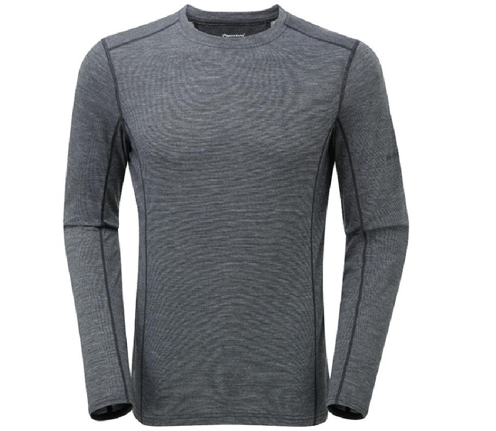 【SALE】モンテイン メンズプリミノ140L/S Tシャツ