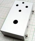 【アルミニウムエフェクターケース】TRANS;mission ドライバーレス穴あけ済みケース/定番サイズ ホワイトプライマー焼き付け塗装
