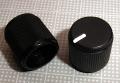 【ノブ】スプリットタイプ(6mm):ギザギザシャフト用 small RAT風