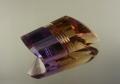 【高品質ルース】この色合い、この個性的な形!!高品質ブラジル産アメトリンルース24.88カラット ファンシーシェイプ