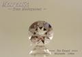 【アクセサリールース】ダイヤのような輝き!!マダガスカル産モルガナイト(ベリル)ルース1.06ct.ラウンドシェイプ7mm