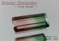 【アクセサリールース】ブラジル産トリカラートルマリンルース1.08ct.オクタゴンシェイプ8x4mm