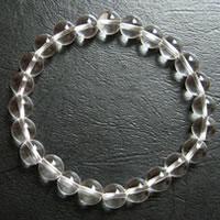ゼロフィールドクリスタルブレス(レムリアン水晶8mm)M (2011062714) メール便不可