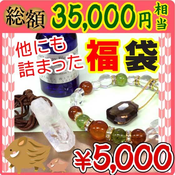 アクセサリー 2019年ハッピー福袋パワーストーン5000円