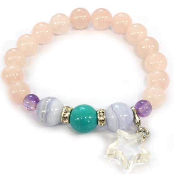 Eternal pretty水晶(流れ星ブレス) (腕周り)内径13cm