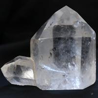 クォーツインクォーツ柱06(天然石 パワーストーン 水晶イン水晶 インナーチャイルド) (tg160419qua001whipoi6) メール便不可