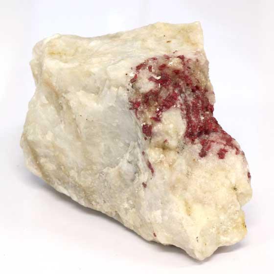 シンナバー オン クォーツ原石(メロディコレクション)パワーストーン天然石 (tg161025) メール便不可