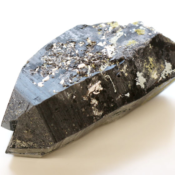 原石 黒水晶03(天然石 パワーストーン モリオン 中国産) (tg161129mor001blamin) メール便不可