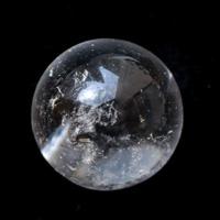 マナスル産ヒマラヤ水晶22-24mm球 (天然石 パワーストーン 球体) (tg170502man001whiorb) メール便不可