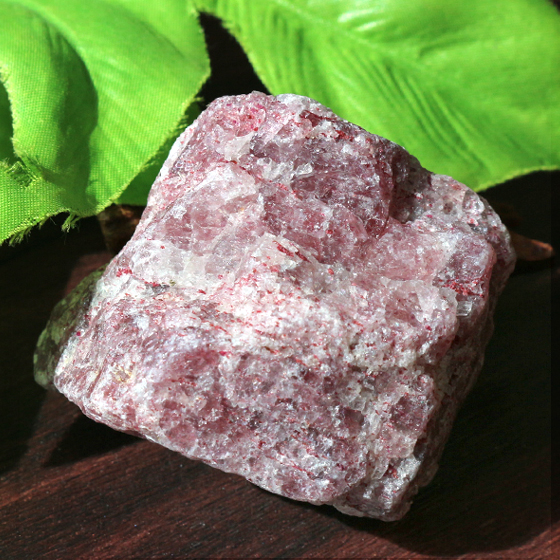 ストロベリークォーツ原石(タンザニア産)天然石パワーストーン01