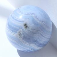 【30mm球】ブルーレース 天然石 パワーストーン 球体 (newitem71) メール便不可