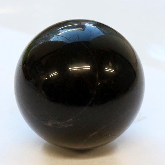 黒水晶球体 41-43mm球(球体 丸玉 天然石 パワーストーン) (tg180206qua001blasphb)