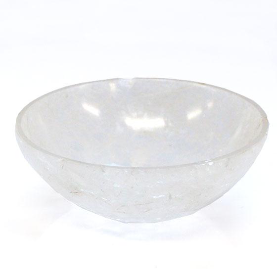 ヒマラヤ水晶浄化皿(ボール皿)大
