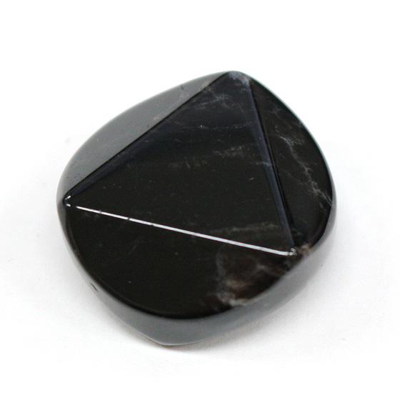 中国産 黒水晶 六芒星(ヘキサグラム)置物