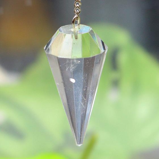 カットペンジュラム ヒマラヤ水晶(ガネーシュヒマール産)