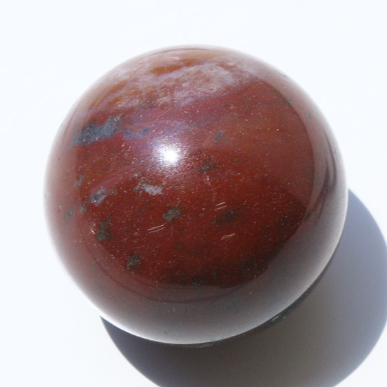 【30mm球】ブラッドストーン 天然石 パワーストーン 球体 丸玉 まるだま