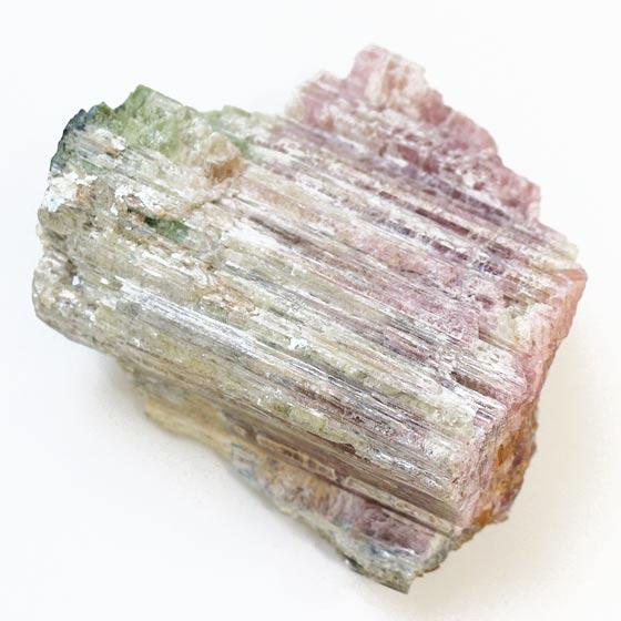 ブラジル産レインボートルマリン結晶原石(天然石 パワーストーン)